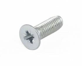 METRIC COUNTERSUNK CRS (POZI) MACHINE SCREWS ZINC PLATED DIN 965